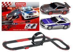 Carrera Go Series Police Patrol 1:43 Slot Car Set