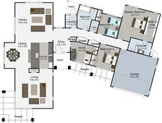 Karaka 4 bedroom house plans Landmark Homes builders NZ LOVE THE FLOOR PLAN