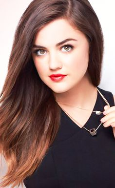 Lucy Hale for Mark Beauty's 2015 'Spring'