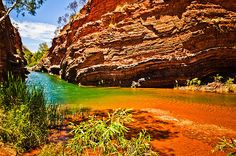 Hamersley Gorge, Karijini National Park--the Pilbara, Australia