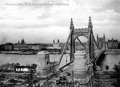 Az Erzsébet-híd (1903. október 9.) - Forrás: bpkep.fszek.hu