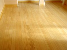 Or bamboo... It has been excellent flooring in the kitchen, except that it dents easily.