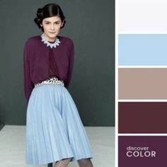 8 Farbkombinationen, die überraschend gut sind - Mode Trends - New Ideas Colour Combinations Fashion, Color Combinations For Clothes, Fashion Colours, Colorful Fashion, Color Combos, Color Azul, Color Cielo, Color Wheel Fashion, Colour Schemes