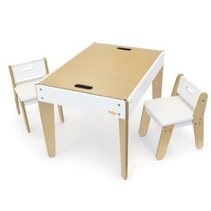 Little Modern Table and Chairs - White, http://www.amazon.com/dp/B00DZ0LEN4/ref=cm_sw_r_pi_awd_OF2rsb09VN666
