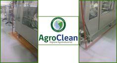 Eliminación de óxido desde piso epóxico. AgroClean