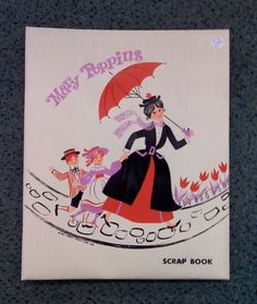 Mary Poppins Scrap Book. Circa, 1960s