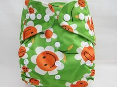 Kawaii Baby One Size Pocket Cloth Diaper with 2 Large Microfiber Inserts in Green Smiley by Kawaii Baby, http://www.amazon.com/dp/B00C5VZI3Q/ref=cm_sw_r_pi_dp_hKOXrb1SB3BA7