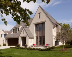 Modern English - traditional - exterior - minneapolis - Murphy & Co. English Cottage Style, English House, Traditional Exterior, Modern Exterior, Custom Home Builders, Custom Homes, Style At Home, Minneapolis, Residential Architecture