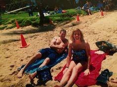 Dad and Theresa  Hanauma Bay Honolulu Hawaii