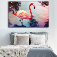 Φλαμίνγκο νο4  πίνακας σε καμβά Flamingo, Animals, Flamingo Bird, Animales, Animaux, Flamingos, Animal, Animais