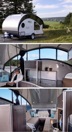 Tiny teardrop may look like a tight fit, but surprising transformation makes it a winner - This teardrop trailer by Safari Condo is unlike anything you've ever seen because it expands into a bigger, and even more practical and compact space. Trailer Park, Small Camper Trailers, Teardrop Camper Trailer, Small Trailer, Small Campers, Campers For Sale, Trailers For Sale, Travel Trailers, Airstream Trailers