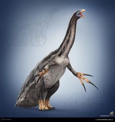 Therizinosaurus by Swordlord3d.deviantart.com on @deviantART