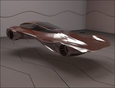 Futuristic Hover Car