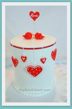 Valentine's Day Cake from MyCakes.com