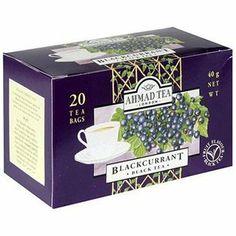 6 boxes of 20 teabags/box of Ahmad Blackcurrant tea? Black Currant Tea, Ahmad Tea, Black Currants, Gourmet Recipes, Farming Life, Decorative Boxes, Packing, Teas, Food