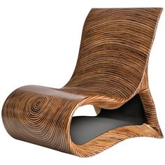 Modern Wooden Altoum Chair in Dark Finish Inspired by Op Art 2014 - Sedia design - Furniture Logo, Funky Furniture, Classic Furniture, Cheap Furniture, Unique Furniture, Wooden Furniture, Furniture Design, Furniture Cleaning, Furniture Stores