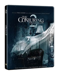 The Conjuring 2 (hmv Exclusive) Limited Edition Steelbook I thought it was a really good sequel with some great jump scares 5*****