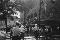 "The movement ""headquarters"" in Birmingham was the 16th Street Baptist Church.  Photo courtesy of the Birmingham Civil Rights Institute."