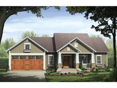 cottage house plan w 1627 sq ft