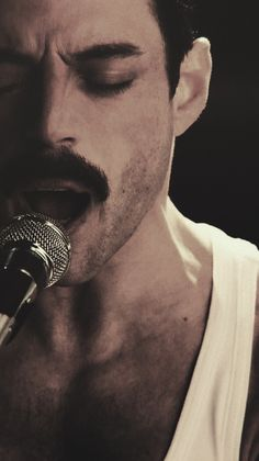 Rami Malek is Freddie Mercury at Live Aid John Deacon, Rami Malik, Queen Movie, Queens Wallpaper, My Champion, Queen Freddie Mercury, Rami Malek Freddie Mercury, Ben Hardy, We Will Rock You