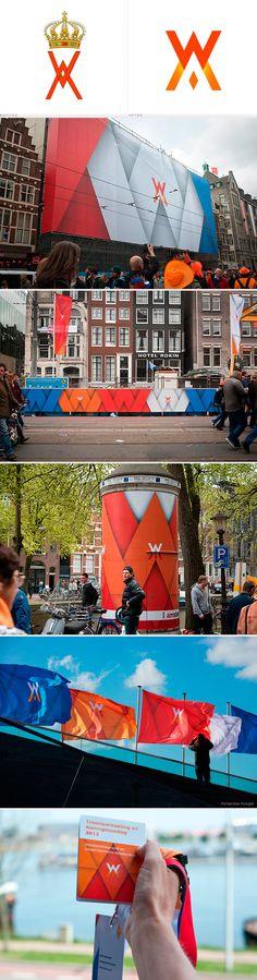 branding / Dutch King Day | #stationary #corporate #design #corporatedesign #identity #branding #marketing < repinned by www.BlickeDeeler.de | Have a look on www.LogoGestaltung-Hamburg.de