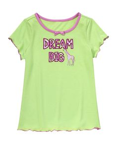 Dream Big Sleep Tee at Gymboree