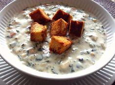 Yum! I'd Pinch That | Chicken Florentine Soup #recipe #justapinch