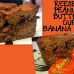 REESE'S PEANUT BUTTER CUP BANANA BREAD! - Hugs and Cookies XOXO