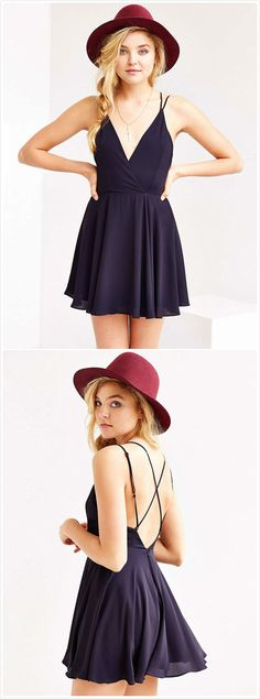 Cute Pairing of hat and sun dress