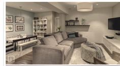 Great color palette for basement. & a calming palette for a basement | Pinterest | Basements Art school ...