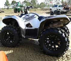 Yamaha grizzly atvs pinterest atv 4x4 and offroad yamaha grizzly sciox Image collections