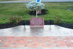 Memorial at NWOTPA building in Bowling Green