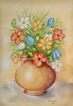 'Flowers' by Peter Ghetu Framed Prints, Canvas Prints, Art Prints, Flower Art, Saatchi Art, Greeting Cards, Throw Pillows, Drawings, Flowers