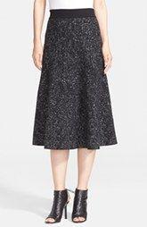 Theory 'Marvita' Wool Blend A-Line Skirt