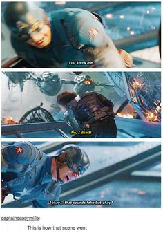 It is time we all accepted Chris Evans' Captain America as the muscle-bound but wounded bald eagle that he really is. Marvel Funny, Marvel Memes, Marvel Dc Comics, Marvel Avengers, Avengers Story, Tom Holland, Capitan America Chris Evans, Marvel Tumblr, Captain America And Bucky