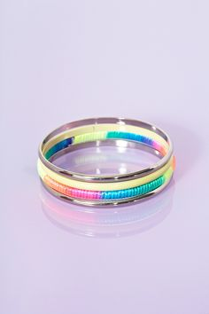 Pop Stacked Bangles