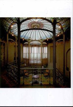 Art Nouveau Interior Dome Design