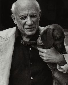 Picasso acquired Lump the dachshund in 1957. He initially belonged to photographer David Douglas Duncan, but when he and Pablo met, it was seemingly true love. Lump was allowed anywhere on Picasso's property, including being the only creature allowed in Picasso's studio. Lump appeared in 54 of Picasso's works. Lump and Picasso were together for sixteen years, and died within months of each other.