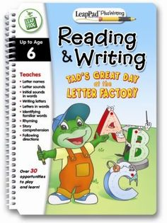 LeapPad Plus Writing: Pre-Kindergarten Book - Reading by LeapFrog Toys. $3.99. Engage in stories and writing. Learn to trace letters and shapes. Comes with pre-kindergarten reading and writing book and cartridge. Use with your LeapPad Plus Writing System sold separately. Teaches letter names and letter sounds. The LeapPad Plus library helps your child sound out letters and words, read engaging stories and write. Turn your little learner into a writing wiz with the LeapPad...