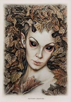 Autumn Creature by Victoria Francés
