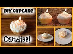 DIY Cupcake Candles! - YouTube