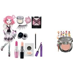 """Monster High Makeup Cupid"" by crdbaby on Polyvore"