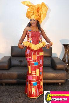 Bessel Basse -  Presentatrice sénégalaise / Senegalese presenter / Presentatrice Africain / African  presenter