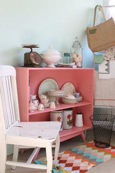 Color, Reciclado y Producción - Decoración Vintage Blog