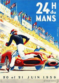 24h du Mans 1959.