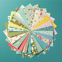 Stamps, Paper, Ink Create! The All Abloom Designer Series Paper Stack is a Bargain at $6.95 and sized just right for cards, love the huge variety!