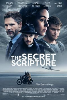 New Poster for Drama 'The Secret Scripture' - Starring Rooney Mara Eric Bana Vanessa Redgrave and Theo James Drama Movies, Hd Movies, Movies Online, Movie Tv, Drama Film, Movies 2019, Watch Movies, Vanessa Redgrave, Eric Bana
