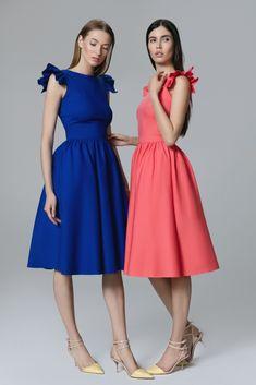 Платье «Кэнди» сапфир, Платье «Кэнди» коралл, Цена— 27990 рублей