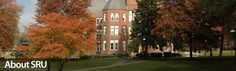 Slippery Rock University of Pennsylvania. SRU is my alma mater, and I love it.
