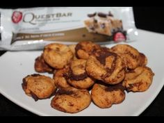Quest Bar Cookies!!! 15 teeny tiny cookies for under 200 calories! Healthy and tasty!